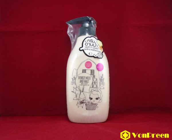 Cathy Doll Donkey Milk & Malt Bath Cream