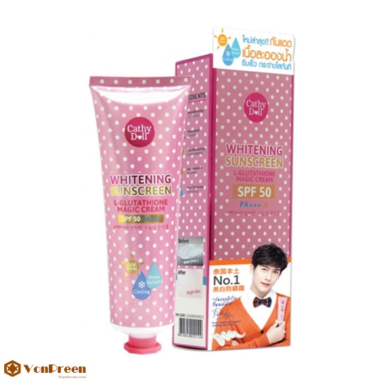 Kem Chống Nắng Magic Cream Cathy Doll