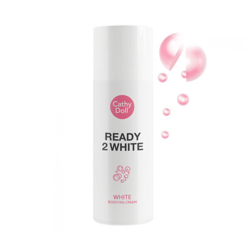 Kem dưỡng da mặt Cathy Doll Ready 2 White White Boosting Cream 75ml
